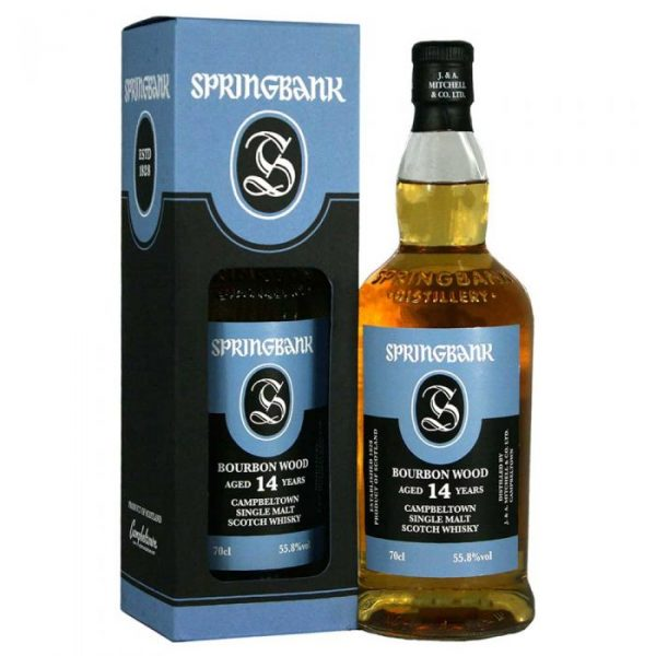 whisky Springbank 14 ans bourbon wood