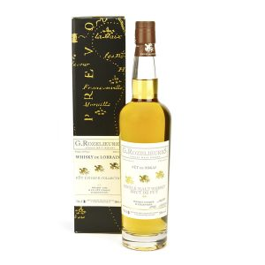 whisky Lorrain Rozelieures brut de fût finition Tokay de Hongrie
