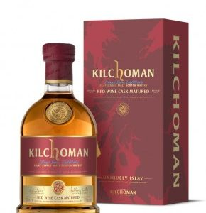 whisky Kilchoman red wine cask matured