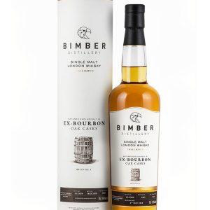 Whisky Anglais Bimber 4 ans 2016 Ex Bourbon Cask Small Batch N°1 51,8%