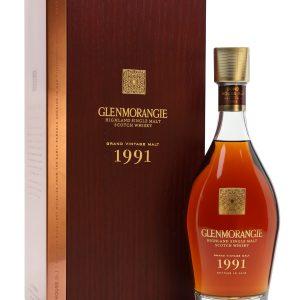 Whisky des Highland Glenmorangie Grand Vintage 1991