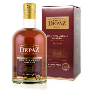 Rhum agricole Depaz XO port cask finish