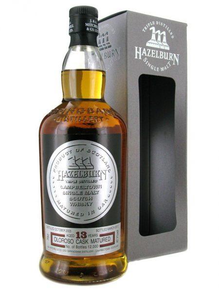 Whisky Hazelburn 13 ans sherry wood