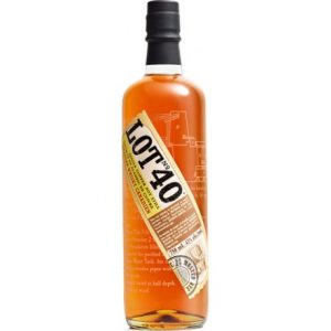 whisky lot 40 rye canadian
