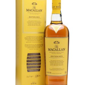 Whisky Macallan edition n°3