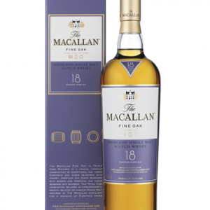 whisky macallan 18 ans fine oak