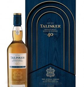 whisky Talisker 40 ans Isle Of Skye