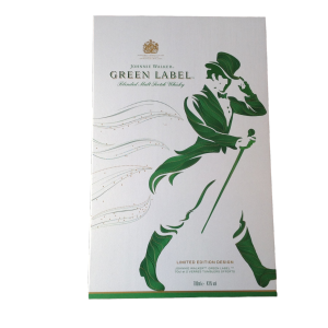 Whisky Johnnie Walker Green Label - Coffret 2 verres 43%