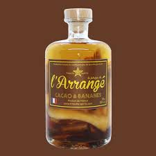 L'Arrangé Cacao & Bananes - Rhum Arrangé fabrique de l'Arrangé par Tricoche Spirits