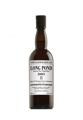 Rhum Long Pond 15 ans 2003 TECA 63%