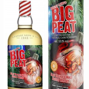 whisky d'Islay Big Peat Christmas 2020 - Douglas Laing 53,1%