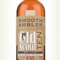whisky smooth amber old scout 10 ans 50%