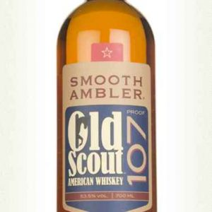 whisky smooth amber old scout 107 proof 53,5%