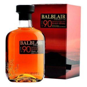 Whisky Balblair 1990