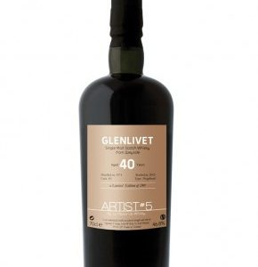 Whisky du Speyside Glenlivet 1974 The Artist 5th 40 ans 46,8%