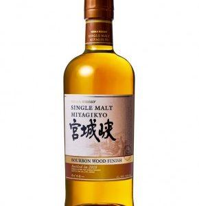 Whisky Japonais Miyagikyo Bourbon Wood Finish embouteillage 2018
