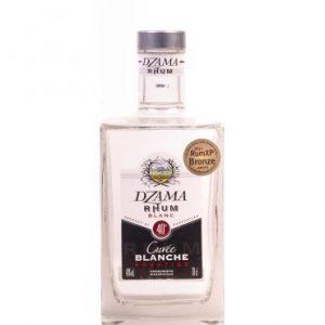 Rhum de Madagascar Dzama cuvée blanche prestige