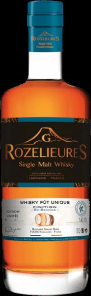 Whisky Lorrain Rozelieures Banyuls - Collection fût unique