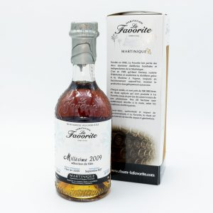 RHUM AGRICOLE DE MARTINIQUE LA FAVORITE MILLESIME 2009 48%