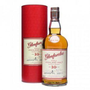 Whisky du Speyside Glenfarclas 10 ans 40%