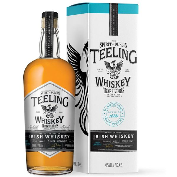 whisky irlandais teeling small batch trois rivieres