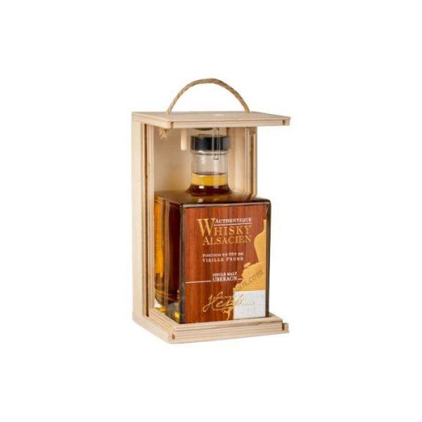 Whisky Alsacien Hepp Finition Vieille Prune 43% 50cl