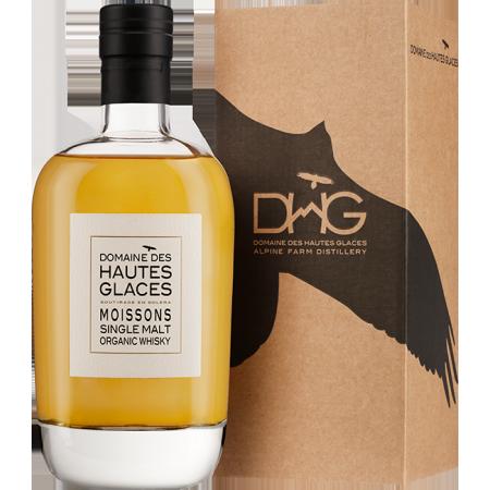 Whisky Francais des hautes alpes Domaine Des hautes glaces Moisson single malt 44,8%