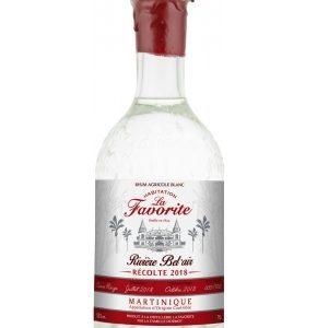 Rhum blanc La Favorite Riviere de Bel'air récolte 2018 53%