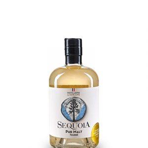 Whisky français équoia Tourbé pur malt Distillerie du Vercors
