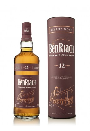 Whisky du Speyside Benriach 12 ans Sherry Wood