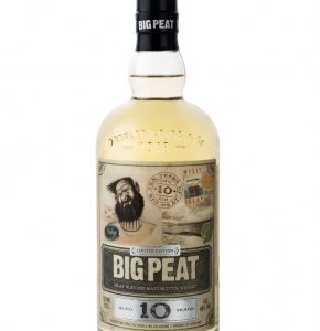 Whisky tourbé Big Peat 10 ans 46%