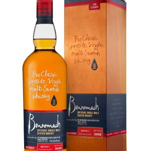Whisky du Speyside Benromach 2009 Vintage Cask Strenght 58,8%