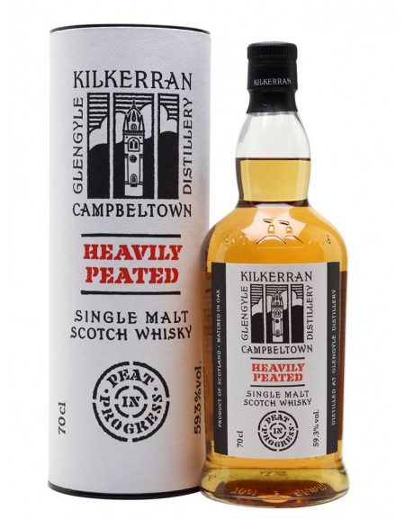 Whisky Kilkerran Heavily Peated - Peat in Progress Campbeltown
