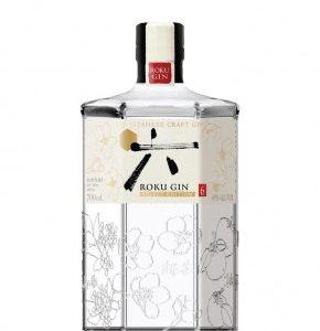 Gin roku Japon produit par Suntory