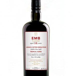 Rhum de jamaïque SVM 14 ans EMB Blend Tropical Aging Plummer 69,7%