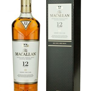 Whisky du speyside Macallan Sherry Oak 12 ans