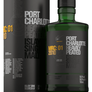 Whisky d'Islay Port Charlotte 2010 MRC 01 59,2%