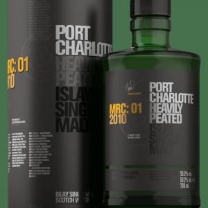Whisky d'Islay Port Charlotte 2010 MRC 01 59,2%
