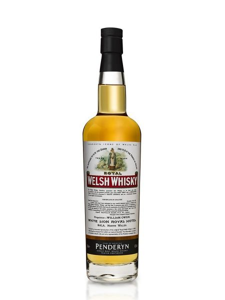 Whisky du Pays de Galle Penderyn Royal Welsh Whisky