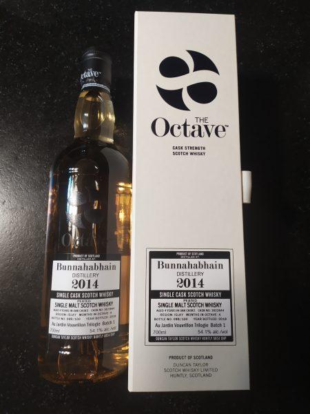 Whisky d'Islay Bunnahabhain Peated 2014 Duncan Taylor