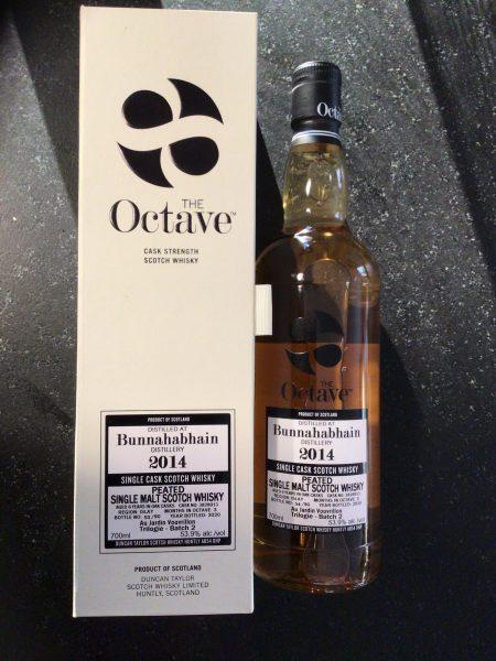 Whisky d'Islay Bunnahabhain Peated 2014 Single Cask Duncan Taylor Batch 2