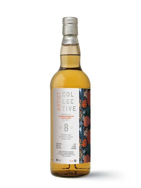 whisky d'islay Bunnahabhain 8 ans The Artist 48%