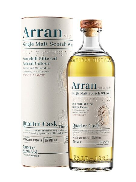 Whisky Isle Of Arran Arran Quarter Cask The Bothy 56,2%