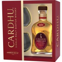 Whisky du speyside Cardhu Amber Rock coffret 2 verres