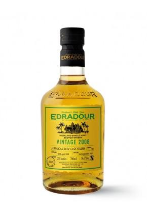 Whisky des Highlands EDRADOUR 11 ans 2008 Jamaican Rum Cask Finish 56,7%