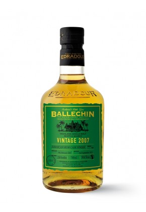 Whisky des Highlands BALLECHIN 12 ans 2007 Jamaican Rum Cask Finish 59,6%