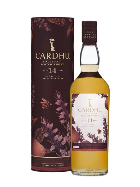 whisky du speyside Cardhu 14 ans 55% special release 2019