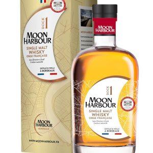 Whisky de Bordeaux Moon harbour dock 1 fintion château La Louvière 45,8%