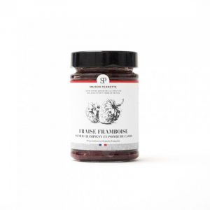 Maison Perrotte confiture fraise framboise saumur champigny et poivre de cassis