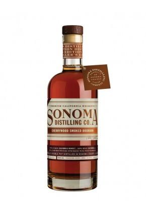 Whisky de Californie Sonoma Cherrywood Smoked Bourbon 47,8%